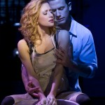 Caissie Levy (Molly Jensen) and Richard Fleeshman (Sam Wheat) in the Broadway production of Ghost The Musical, photo by Joan Marcus - 2298r