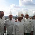 Chef Michele Simioli e la sua brigata - Roof Restaurant L'Olimpo