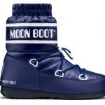 Moon Boot Duvet Low - Blu