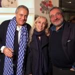 Da sx. Michele Massa, Franca Sozzani e Paolo Massa