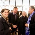 da sx. Ariela Goggi,Rinaldo Modenese,Franca Sozzani e Michele Massa