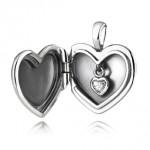 Pandora collana con pendente a forma di cuore