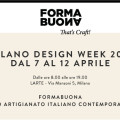 FORMABUONA_Invito_Milano Design Week 2014