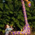 giraffa panchina di Andrea Sirtori da PèPè