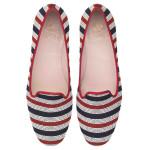 Faye broad nautical stripes - pair