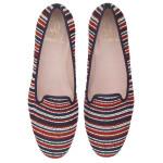Faye narrow nautical stripes - pair