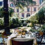 Quirinale colazione giardino