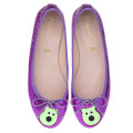 Bip Ling Collection - Marilyn purple metallic with mint green Mooch - pair