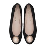 Marilyn black suede with cameo - pair_PVP 215[1]