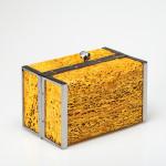 Vitussi- Bauletto con trama di fico d'India naturale color oro euro 880