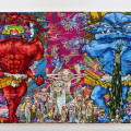 takashi TM312_Red Demon and Blue Demon with 48 Arhats  2013