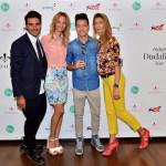 Alberto Gianni (Fashion communication specialist), Valentina (Daqua Store), Alessandro Magni (Fashion Blogger), Alessandra Ianzito (Pr and Events)