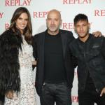 Alessandra Ambrosio;Matteo Sinigaglia;Neymar Jr