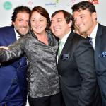 Gianni Asnaghi, Sonia Hess de Souza (Presidente Dudalina), Ilton Parnowski (Dudalina), Thiago Raitez (Dudalina)