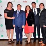 Presidente di Dudalina Sonia Hess de Souza, Ambasciatore Renan Paes Barreto con la moglie Livia Barreto