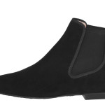 Lena black suede ankle boot - side_PVP 219