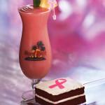 Wildberry Smoothie & Red Velvet Cake