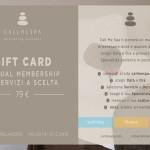 CALLMESPA - Gift card - Annual Member - 2014