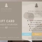 CALLMESPA - Gift card - Ayurveda 60' - 2014
