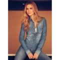 camisa jeans dudalina feminina 1
