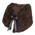 Dellera 14 1-K1426 stola arricciata visone tricot euro 520 (1)