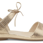 Sandalo Tabora 15  in pelle oro