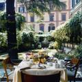 Quirinale colazione in giardino
