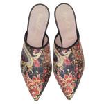 PRETTYBALLERINAS_Lena paisley print mule - pair