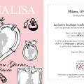 Save the date Monnalisa Diva per Un Giorno, con ritratto