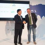 Xu Bing Jun e Massimo Garavaglia