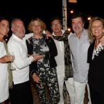 13 Dîner sur la Plage Cé La Vi, St. Tropez - Lorenza e Francesco Trapani, Marie e Umberto Ercole, Toni e Cecilia Colussi Rossi
