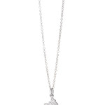 Dodo - Butterfly charm with diamonds