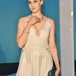 Emma Kathleen Ferrer, nipote di Audrey Hepburn, con gioielli Tiffany & Co.