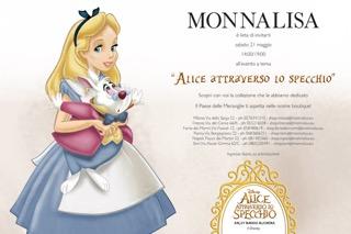 Monnalisa festeggia il lancio del film alice attraverso lo specchio shopping milano roma - Lo specchio di alice milano ...