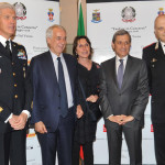 Gen. Caputo, Giuliano Pisapia, Cinzia Sasso, Prefetto A. Marangoni, Gen. Coppola