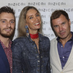 Riccardo Rizieri, laura Morino Teso e Massimiliano Capella