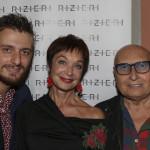 Riccardo Rizieri, Oriella Dorella e Gianni Tolentino