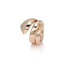visconti EDEN anello oro rosa spirale