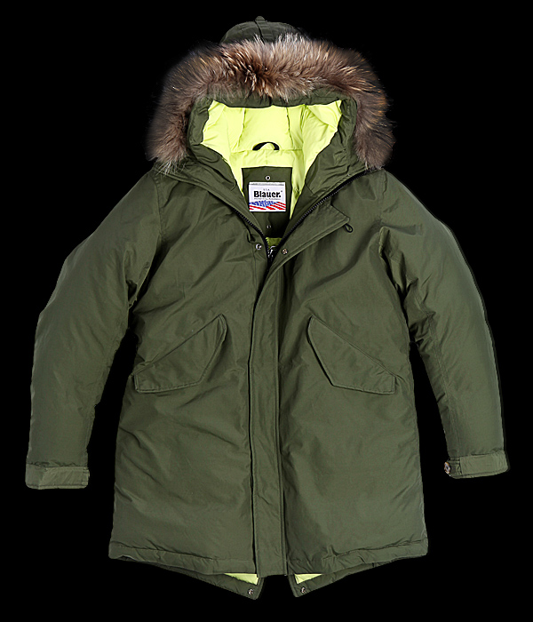 san francisco 36bbb db85d Blauer, Parka in limited edition per questa stagione ...