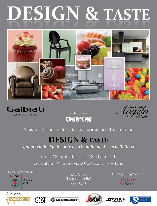 Design taste da galbiati arreda il primo evento di chi for Galbiati arreda