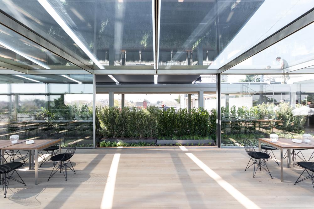 Alla triennale di milano apre il ristorante sulla terrazza for Viale alemagna 6 milano
