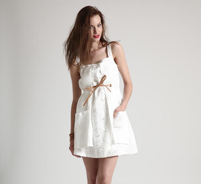 aa8bfdd904c7 Morbidi e romantici abiti in pizzo sangallo di Siste s - Shopping ...