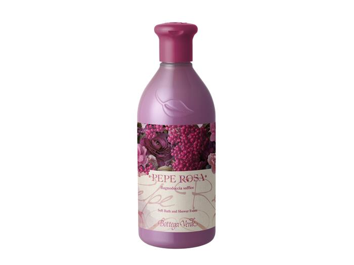 Bagno Doccia Bottega Verde : Linea corpo al pepe rosa di bottega verde shopping milano roma