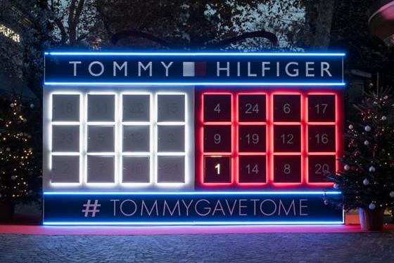 Tommy hilfiger porta la magia del natale a milano for Calendario eventi milano 2017