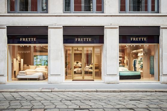 frette il noto marchio italiano di biancheria di lusso