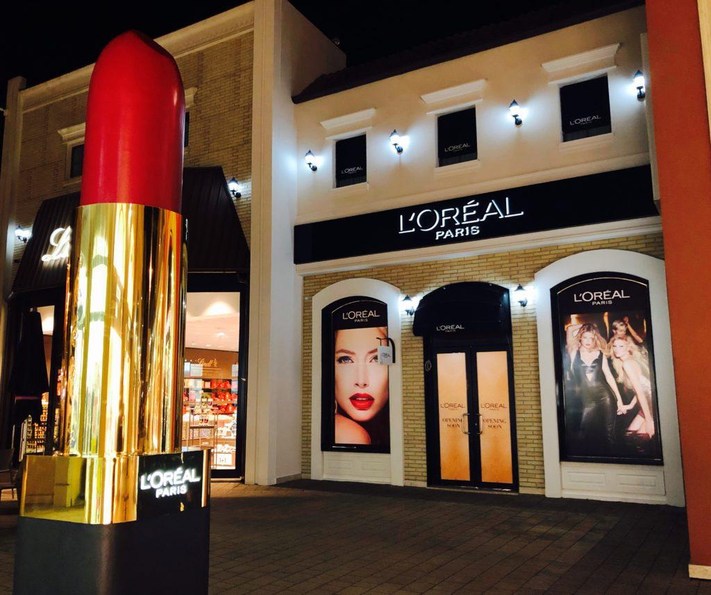 Al Valmontone Outlet arriva il nuovo store L\'Oréal Paris ...