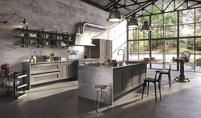 Bellagio: l\'industrial country chic di Aran Cucine ...